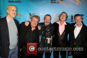 John Cleese, Eric Idle, Terry Gilliam and Terry Jones