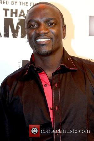 Akon album release party for 'More Than a Game' held at Marquee Club - Arrivals New York City, USA -...