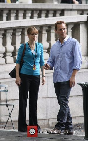 Patrick Wilson and Rachel McAdams on the film set of 'Morning Glory'  New York City, USA - 24.06.09