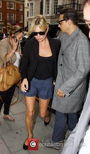 Kate Moss and Jamie Hince Arriving At A Restaurant