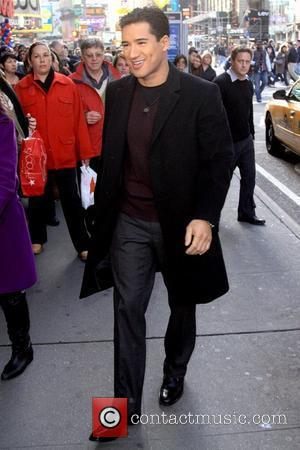 Mario Lopez outside MTV studios in Times Square New York City, USA - 24.11.09