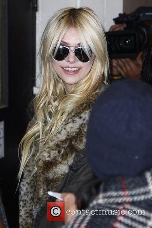 Taylor Momsen outside MTV Studios in Times Square New York City, USA - 30.11.09