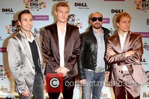Howie Dorough, Brian Littrell, Mtv, Nick Carter and Mtv european music awards