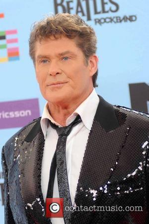 David Hasselhoff The 2009 MTV European Music Awards (EMAs) at the O2 World Arena - Arrivals Berlin, Germany - 05.11.09