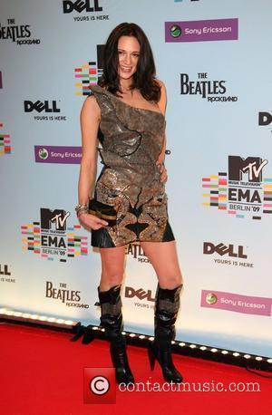 Asia Argento  The 2009 MTV European Music Awards (EMAs) at the O2 World Arena - Press Room Berlin, Germany...