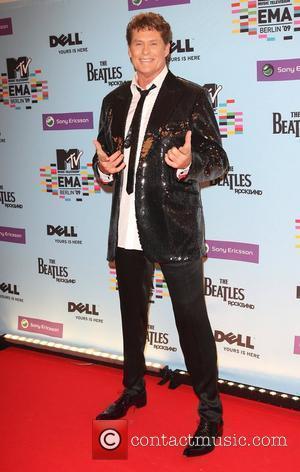 David Hasselhoff The 2009 MTV European Music Awards (EMAs) at the O2 World Arena - Arrivals Berlin, Germany - 05.11.09