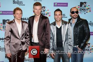 Brian Littrell, Howie Dorough, MTV and Nick Carter
