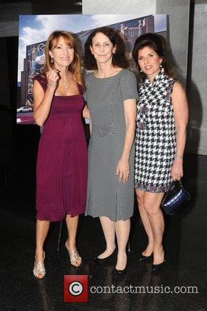 Jane Seymour, Mural Arts Director Jane Golden, Event Chair Margelle Liss The Mural Arts Wall Ball held at the Loews...