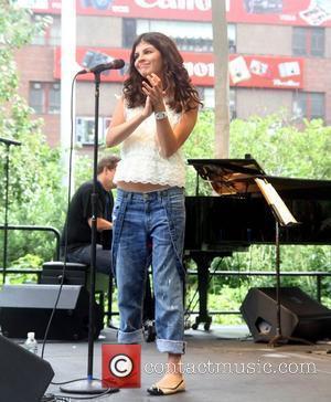Jazz Singer Nikki Yanofsky  at J&R MusicFest 2009 at City Hall Park  New York City, USA - 29.08.09