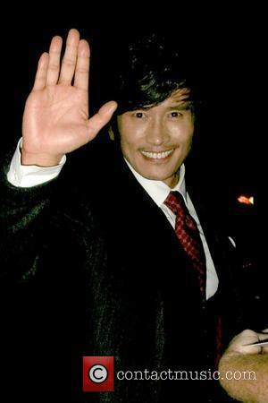 Byung-hun Lee 'G.I. Joe: The Rise of Cobra' star outside My House nightclub on Hollywood Boulevard Los Angeles, California -...