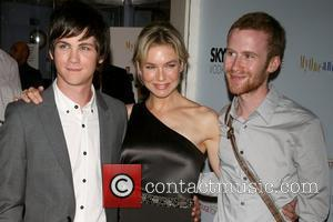 Logan Lerman, Renee Zellweger and Mark Rendall Premiere of 'My One And Only' at the Paris Theatre - Arrivals New...