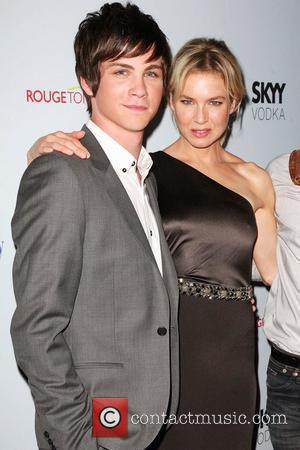 Logan Lerman and Renee Zellweger Premiere of 'My One And Only' at the Paris Theatre - Arrivals New York City,...