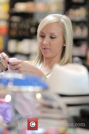 Nastia Liukin Russian-born gymnast and member of the US women's gymnastics team, shopping at Kitson on Robertson. Los Angeles, California...
