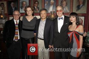 James Schamus, Ang Lee and Sigourney Weaver