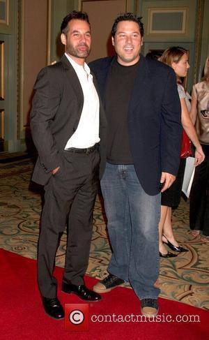 Greg Grunberg and Adrian Pasdar The NBC TCA Party at the Langham Huntington Hotel & Spa - Arrivals Pasadena, California...