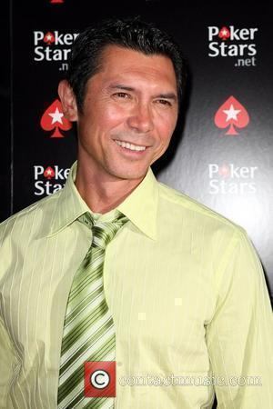 Lou Diamond Phillips and Palms Hotel
