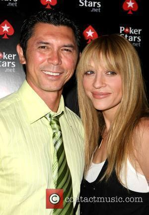 Lou Diamond Phillips, Yvonne Phillips and Palms Hotel