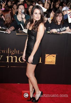 Lea Michele  The Los Angeles Premiere of 'The Twilight Saga: New Moon' held at Mann Village and Bruin Theater...