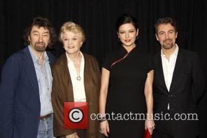 Trevor Nunn, Angela Lansbury, Catherine Zeta-Jones and Alexander Hanson Photocall for the cast of the upcoming Broadway revival of Stephen...