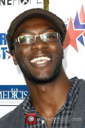 Aldis Hodge 'A Night Of Honor' to benefit the Iraq Star Foundation at the Universal City Hilton Los Angeles, California...