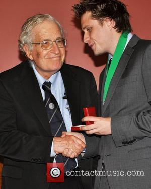 Noam Chomsky and Jamie Walsh (historical Society)