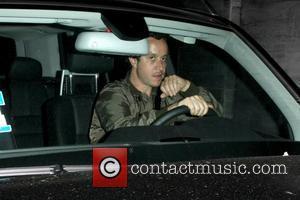 Pauly Shore driving away after leaving Nobu restaurant  Los Angeles, California - 10.06.09