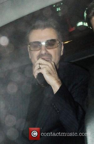 George Michael at Nobu restaurant London, England - 15.10.09