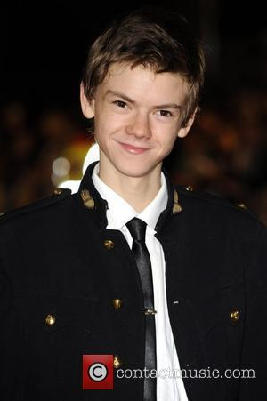 Thomas Sangster The Times BFI London Film Festival - The closing gala premiere of 'Nowhere Boy' held at the Odeon...