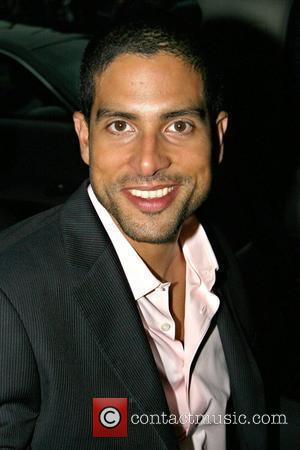 Adam Rodriguez outside his Manhattan hotel New York City, USA - 08.09.09