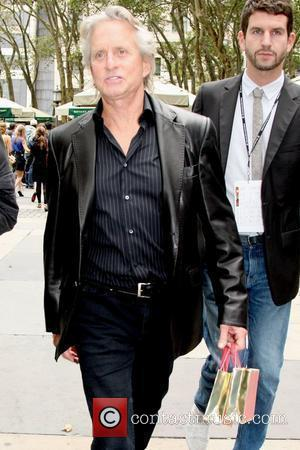 Michael Douglas and Michael Kors