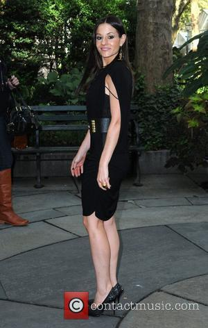 Kara DioGuardi Celebrities at Bryant Park during Mercedes-Benz IMG New York Fashion Week Spring/Summer 2010 New York City, USA -...