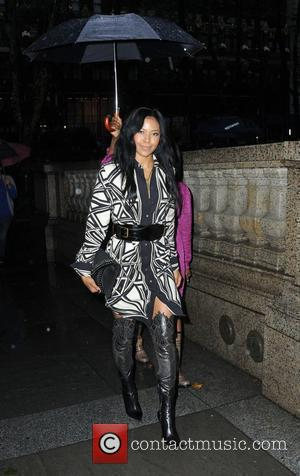 Amerie Mercedes-Benz IMG New York Fashion Week Spring/Summer 2010  New York City, USA - 11.09.09