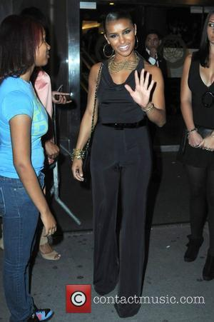 Melody Thornton Mercedes-Benz IMG New York Fashion Week Spring/Summer 2010 - Baby Phat and KLS - Outside Arrivals New York...