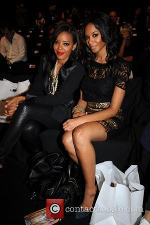 Angela Simmons and Vanessa Simmons Mercedes-Benz IMG New York Fashion Week Spring/Summer 2010 Charlotte Ronson - Front Row New York...