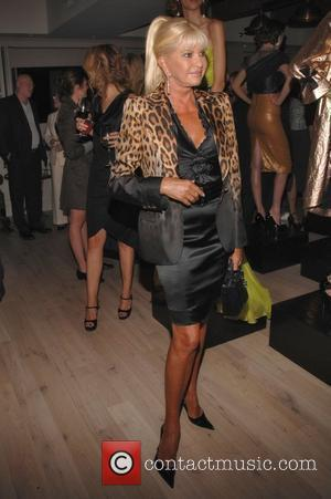 Ivana Trump Domenico Vacca unveils his Spring/Summer 2010 fashion presentation at the SOHO House  Mercedes-Benz IMG New York Fashion...