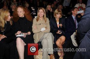 Grace Coddington, Anna Wintour and Isaac Mizrahi