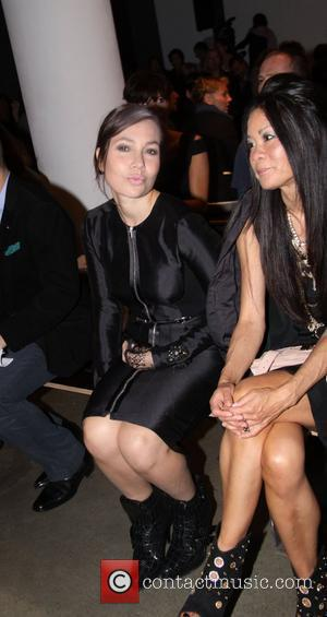 Fabiola Beracasa Proenza Schouler Spring 2010 - front row Mercedes-Benz IMG New York Fashion Week Spring/Summer 2010 New York City,...