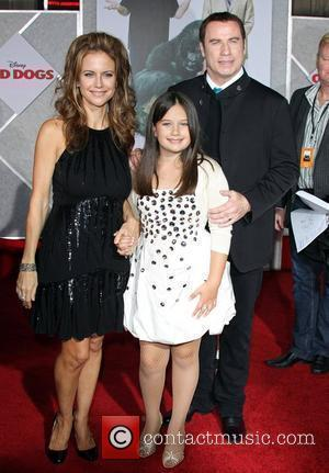 Kelly Preston, Ella Bleu Travolta and John Travolta Walt Disney's World Premiere of 'Old Dogs' held at El Capitan Theatre...