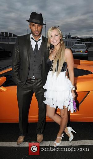Ricky Whittle and Carley Stenson
