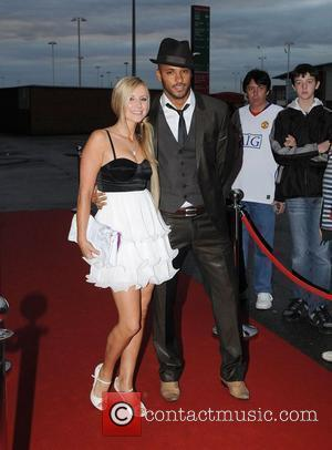 Ricky Whittle and Carley Stenson Muhammad Ali Sporting Dinner held at Old Trafford - Arrivals Manchester, England - 26.08.09