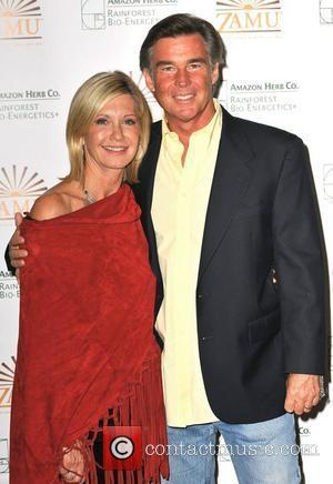 Olivia Newton-john and Her Husband John Easterling Aka Amazon John