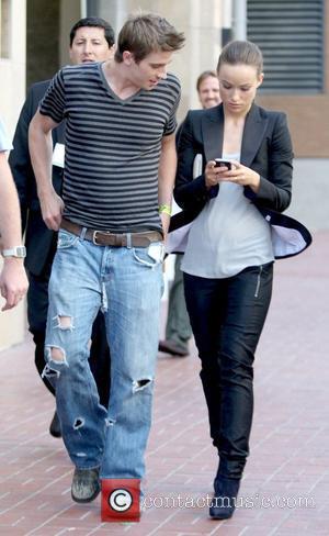 Garrett Hedlund and Olivia Wilde 'TRON 2.0' stars arriving at Comic-Con 2009 San Diego, California - 23.07.09