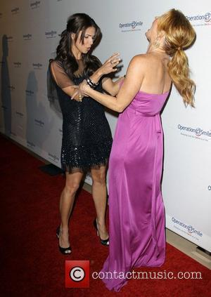 Roselyn Sanchez and Poppy Montgomery