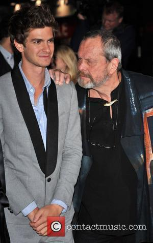 Andrew Garfield and Terry Gilliam