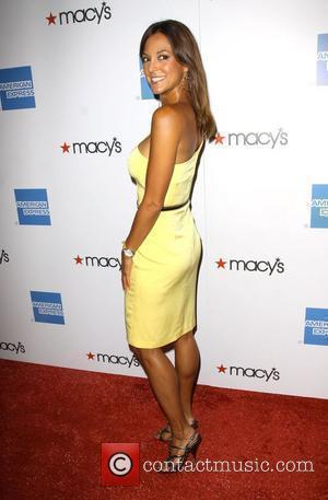 Eva La Rue 2009 Macy's Passport fashion show held at the Barker Hangar - Arrivals Los Angeles, California - 24.09.09