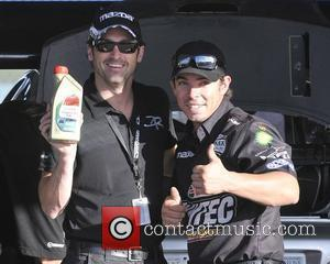 Patrick Dempsey  makes and appearance at the Homestead Miami Speedway ahead of the Rolex Series race which takes place...