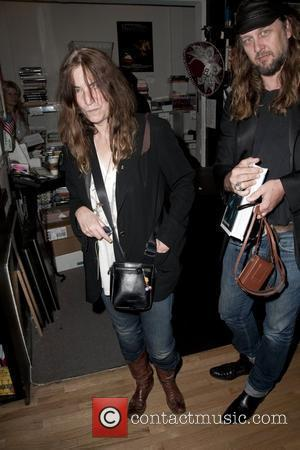 Patti Smith and Steven Sebring signs copies of their new book 'Dream of Life' at Book Soup. West Hollywood, California...