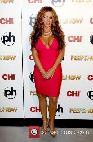 Aubrey O'day Takes To The Stage As The Peep Diva In Peepshow At Planet Hollywood