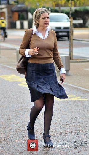 Penny Smith The GMTV presenter outside the ITV studios London, England - 27.10.09