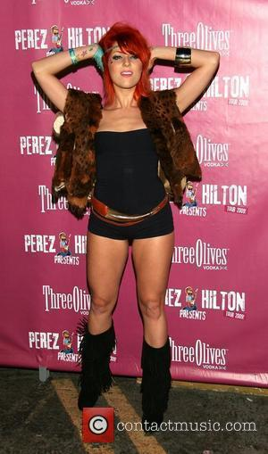 Bonnie McKee Perez Hilton Presents Tour Finale Sponsored by Three-O Bubble Vodka at Avalon and Bardot Hollywood, California - 03.10.09